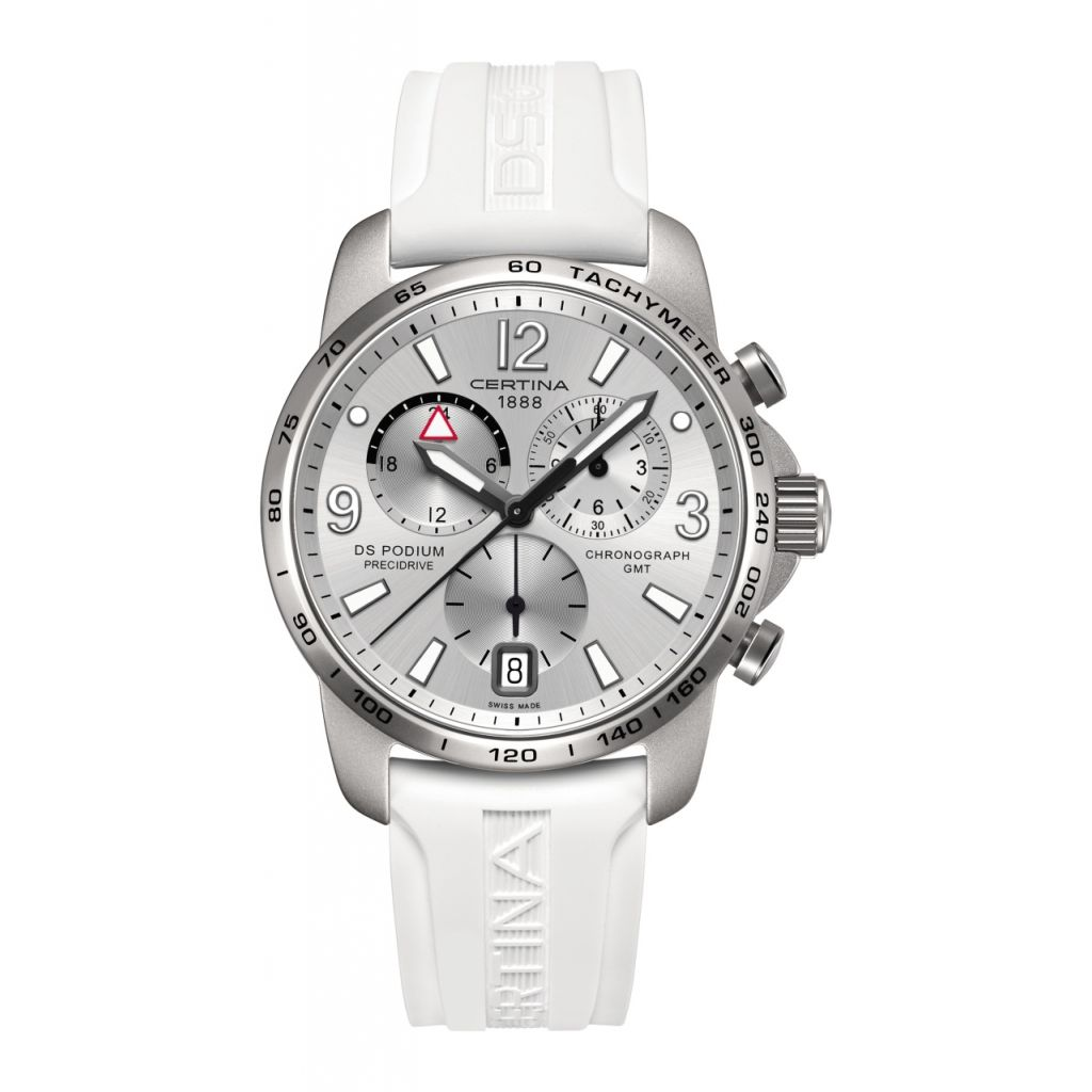 ZEGAREK CERTINA DS Podium Chrono GMT Aluminium