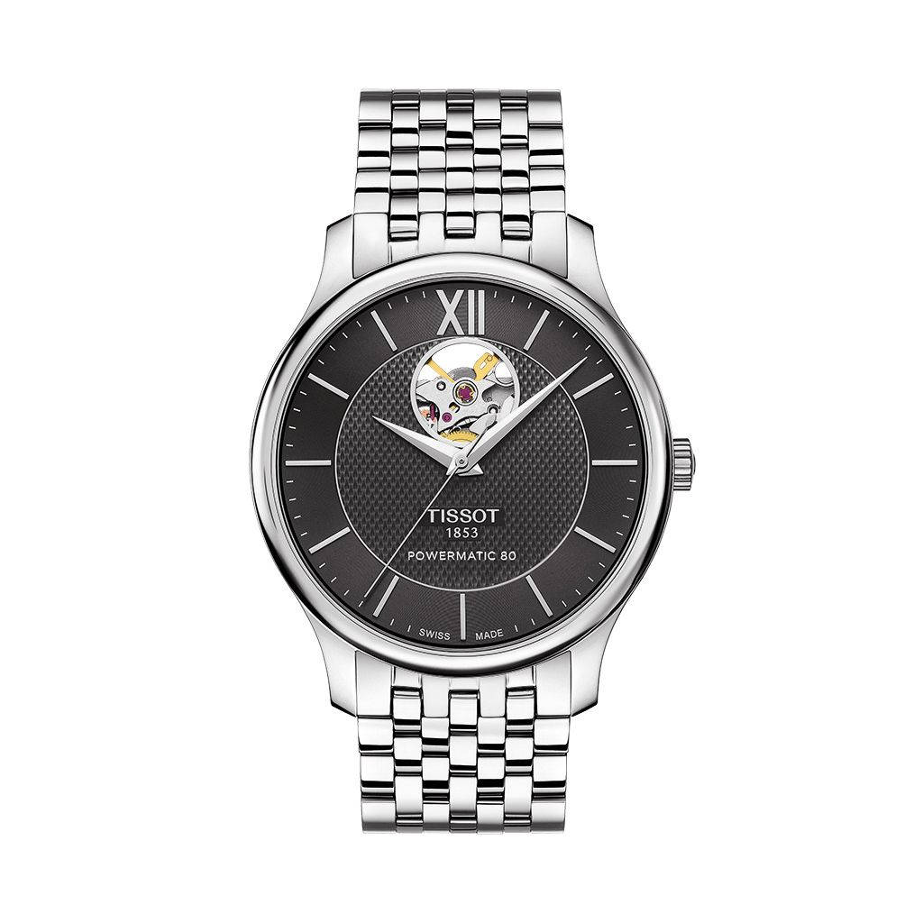 ZEGAREK TISSOT Tradition Automatic Open Heart
