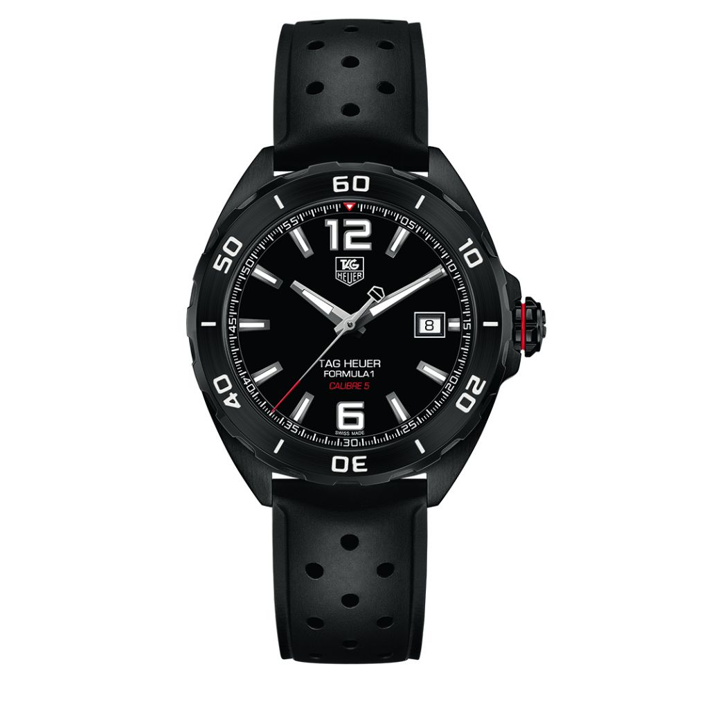 ZEGAREK TAG HEUER Formula 1 Leather Automatic Mens